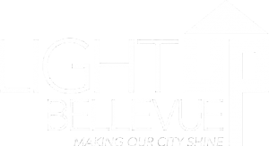 light-up-bellevue-logo-white